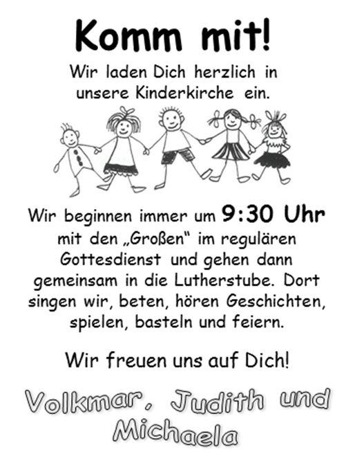 Kinderkirche Evangelische Kirchengemeinde Waiblingen